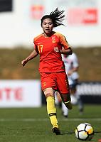 International Women's Friendly Matchs 2019 / <br /> Womens's Algarve Cup Tournament 2019 - <br /> China v Norway 1-3 ( Municipal Stadium - Albufeira,Portugal ) - <br /> GU YASHA of China
