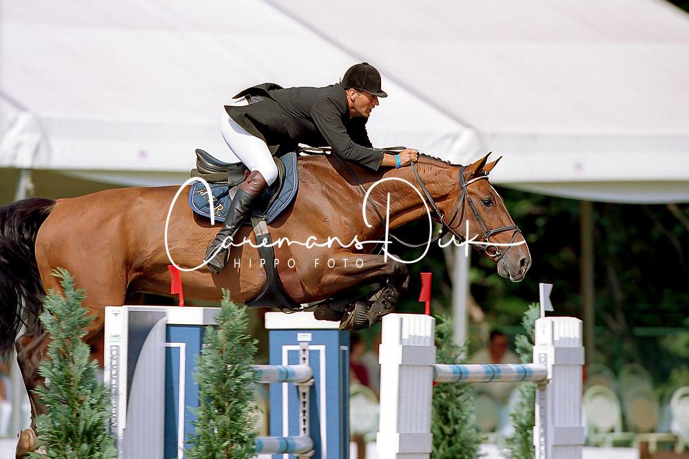 Van Roosbroeck Maurice, BEL, Le Coup C<br /> Belgisch Kampioenschap Kapellen 2001<br /> © Hippo Foto - Dirk Caremans<br /> 12/09/2001