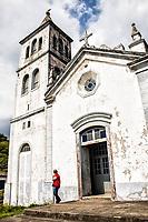 Sao Joaquim Mother Church. Garopaba, Santa Catarina, Brazil. / <br /> Igreja Matriz de São Joaquim. Garopaba, Santa Catarina, Brasil.