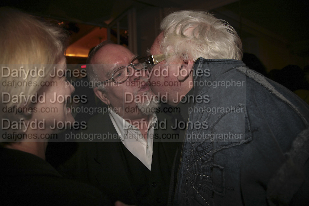 Pete Townsend and Ken Russell, The South Bank Show Awards, Savoy Hotel. London. 23 January 2007.  -DO NOT ARCHIVE-© Copyright Photograph by Dafydd Jones. 248 Clapham Rd. London SW9 0PZ. Tel 0207 820 0771. www.dafjones.com.