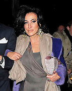 10.MARCH.2011. LONDON<br /> <br /> NANCY DELLOLIO WALKING THROUGH SOHO WITH A MYSTERY GUY.<br /> <br /> BYLINE: EDBIMAGEARCHIVE.COM<br /> <br /> *THIS IMAGE IS STRICTLY FOR UK NEWSPAPERS AND MAGAZINES ONLY*<br /> *FOR WORLD WIDE SALES AND WEB USE PLEASE CONTACT EDBIMAGEARCHIVE - 0208 954 5968*