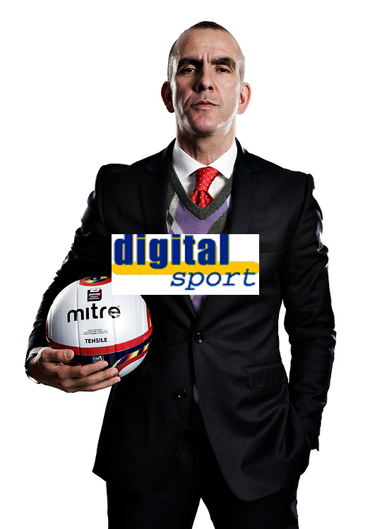 Football - League Two - Swindon Town<br /> Pre Johnstone's Paint Trophy Final feature shoot with Swindon Town manager Paolo Di Canio