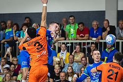 Gašper Marguč of Slovenia during friendly handball match between Slovenia and Nederland, on October 25, 2019 in Športna dvorana Hardek, Ormož, Slovenia. Photo by Blaž Weindorfer / Sportida