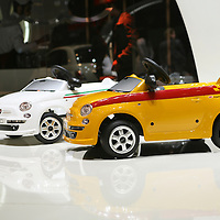Fiat 500 Kids' ride-on Toy Car, Geneva Motor Show 2008
