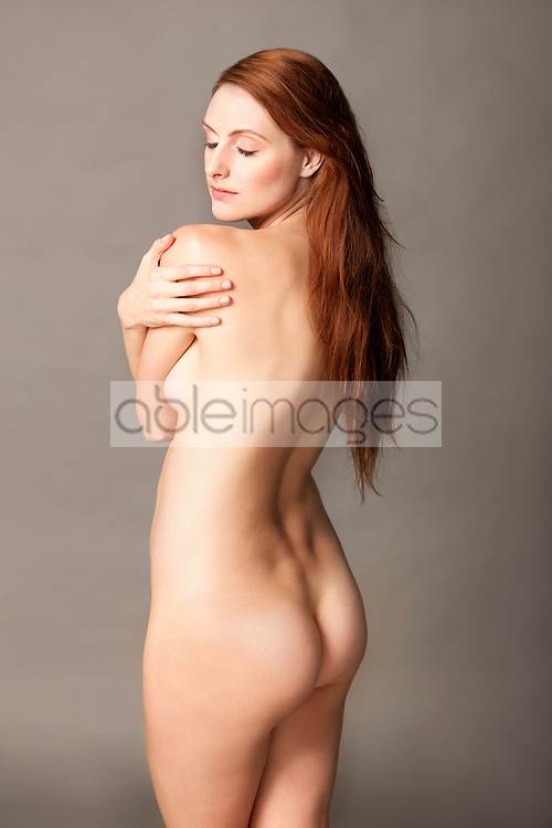 Nude Woman Looking over shoulder