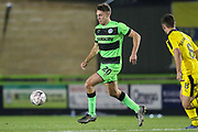 Forest Green Rovers Paul Digby(20) on the ball during the The FA Cup 1st round replay match between Forest Green Rovers and Oxford United at the New Lawn, Forest Green, United Kingdom on 20 November 2018.