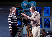 Prism <br /> by Terry Johnson <br /> at Hampstead Theatre, London, Great Britain <br /> press photocall <br /> 11th September 2017 <br /> <br /> Rebecca Night as Lucy <br /> <br /> Robert Lindsay as Jack Cardiff <br /> <br /> <br /> <br /> <br /> <br /> <br /> <br /> Designed by Tim Shortall<br /> Lighting by Ben Ormerod<br /> Sound by John Leonard <br /> Casting by Suzanne Crowley and Gilly Poole <br /> <br /> <br /> Photograph by Elliott Franks <br /> Image licensed to Elliott Franks Photography Services
