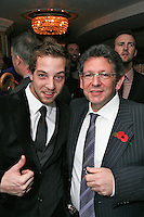 James Morrison and Lucian Grainge