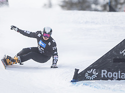 Kim Sangkyum during the FIS snowboarding world cup race in Rogla (SI / SLO) | GS on January 20, 2018, in Jasna Ski slope, Rogla, Slovenia. Photo by Urban Meglic / Sportida