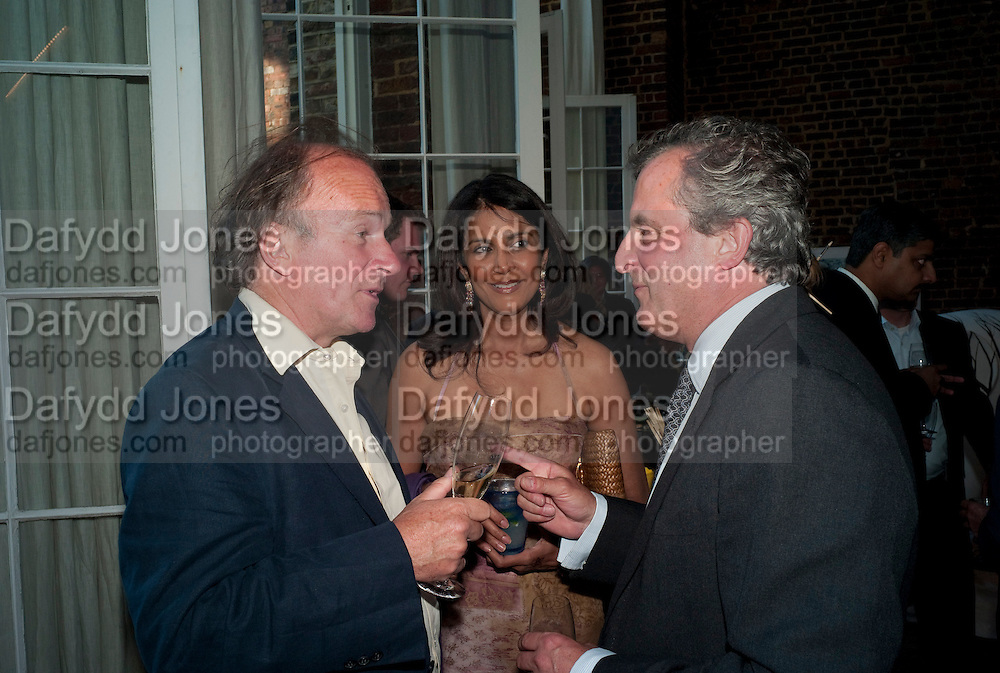 DAVID CAMPBELL; RENOUKA CALIL; LORD ASTOR, The launch party for Elephant Parade hosted at the house of  Jan Mol. Covent Garden. London. 23 June 2009.