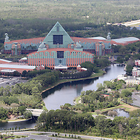 ORLANDO, FL - MARCH 23:  Walt Disney World hotels remain closed to the public due to the Coronavirus threat on March 23, 2020 in Orlando, Florida. The United States has surpassed 43,000 confirmed cases of the Coronavirus (COVID-19) and the death toll climbed to at least 514. (Photo by Alex Menendez/Getty Images)