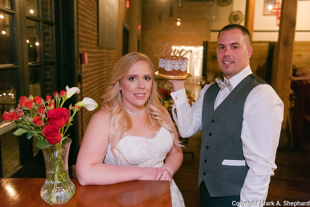 Brooke and Steve were married at Valley Chapel United Methodist Church in Fairmont, W.Va., and had their reception at Morgantown Flour and Feed on December 2, 2017.