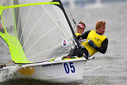 Stevie Morrison and Ben Rhodes. May 29th, Delta Lloyd Regatta in Medemblik, The Netherlands (26/30 May 2011).