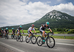 Rafal Majka (POL) of Bora - Hansgrohe, Lukas Poestlberger (AUT) of Bora - Hansgrohe during Stage 1 of 24th Tour of Slovenia 2017 / Tour de Slovenie from Koper to Kocevje (159,4 km) cycling race on June 15, 2017 in Slovenia. Photo by Vid Ponikvar / Sportida