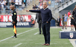May 28, 2018 - Chester, PA, USA - Chester, PA - Monday May 28, 2018: Dave Sarachan during an international friendly match between the men's national teams of the United States (USA) and Bolivia (BOL) at Talen Energy Stadium. (Credit Image: © John Dorton/ISIPhotos via ZUMA Wire)