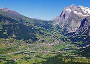 Postkarte A6: Grindelwald, Wetterhorn (1563)