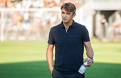 Damir Buric, head coach of Hajduk prior to the First Leg football match between FC Luka Koper and HNK Hajduk Split (CRO) in Second qualifying round of UEFA Europa League, on July 16, 2015 in Stadium Bonifika, Koper, Slovenia. Photo by Vid Ponikvar / Sportida