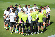 Joachim Low, head coach of Germany, addresses his players during training at Stadio Communale, Ascona<br /> Picture by EXPA Pictures/Focus Images Ltd 07814482222<br /> 26/05/2016<br /> ***UK &amp; IRELAND ONLY***<br /> EXPA-EIB-160526-0001.jpg