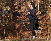 "Their was the ""Flying Nun"" and then there was the running nun."