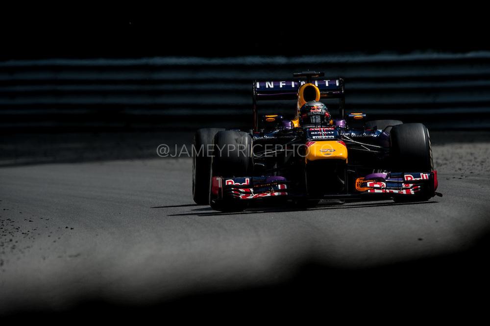 June 7-9, 2013 : Canadian Grand Prix. Sebastian Vettel, Red Bull/Renault