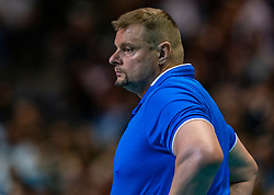 18-05-2019 GER: CEV CL Super Finals Zenit Kazan - Cucine Lube Civitanova, Berlin<br /> Civitanova win the Champions League by beating Zenit in four sets / Coach Vladimir Alekno of Zenit Kazan