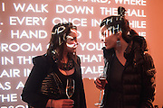 FIONA MCGOVERN; SOPHIE GREEN, Serpentine Gallery and Harrods host the Future Contempories Party 2016. Serpentine Sackler Gallery. London. 20 February 2016
