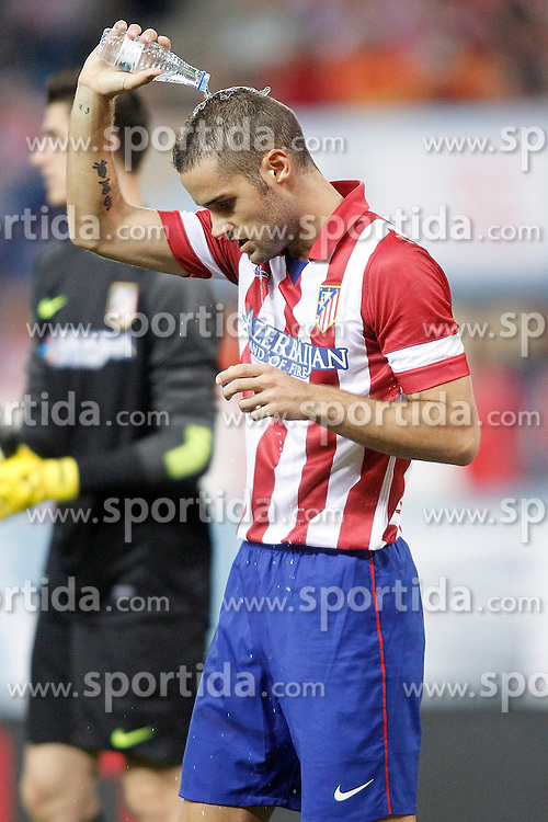 21.08.2013, Estadio Vicente Calderon, Madrid, ESP, Supercup, Atletico Madrid vs FC Barcelona, im Bild Atletico de Madrid's Mario Suarez // during during the Spanish Supercup match between Club Atletico de Madrid and Barcelona FC at the Estadio Vicente Calderon, Madrid, Spain on 2013/08/21. EXPA Pictures &copy; 2013, PhotoCredit: EXPA/ Alterphotos/ Acero<br /> <br /> ***** ATTENTION - OUT OF ESP and SUI *****