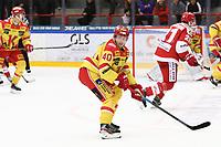 2019-10-02 | Ljungby, Sweden: Kalmar HC (40) Mikael Friberg during the game between IF Troja / Ljungby and Kalmar HC at Ljungby Arena ( Photo by: Fredrik Sten | Swe Press Photo )<br /> <br /> Keywords: Ljungby, Icehockey, HockeyEttan, Ljungby Arena, IF Troja / Ljungby, Kalmar HC, fstk191002, ATG HockeyEttan