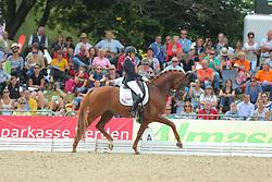 Scholtens, Emmelie, Dorado<br /> Verden - Int. Dressur- und Springfestival<br /> Finale, Dressurpferde 5j.<br /> © www.sportfotos-lafrentz.de/ Stefan Lafrentz