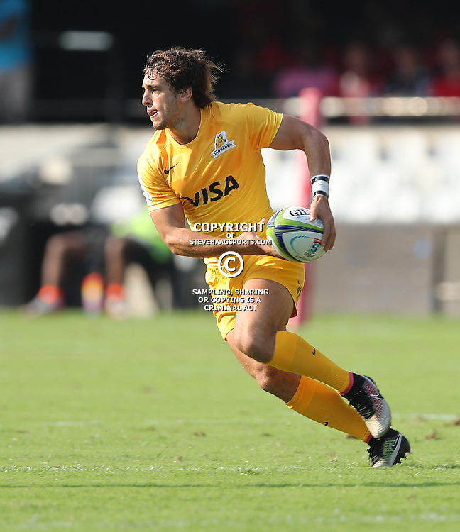 Bautista Ezcurra of the Jaguares during the Super Rugby match between the Cell C Sharks and the Jaguares at Growthpoint Kings Park, April 8th 2017 -  Durban South Africa Photo by Agens Brown (Steve Haag Sports)