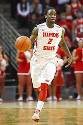 08 December 2012: Bryant Allen during an NCAA mens basketball game between the Western Michigan Broncos and the Illinois State Redbirds (Missouri Valley Conference) in Redbird Arena, Normal IL