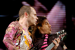 Red Hot Chili Peppers Don Valley Stadium Sheffield.6th July 2006.Copyright Paul David Drabble