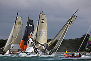Volvo Extreme 40s race in the iShares Cup, Skandia Cowes Week 2008, Isle of Wight UK