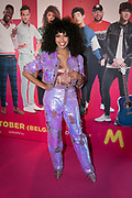 2019, September 20. Pathe ArenA, Amsterdam, the Netherlands. Fenna Ramos at the premiere of Misfit 2.