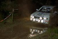#37, Tomas Jansson, Thomas Hallberg, Audi 90 Quattro, Team VAG Sweden,