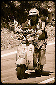Vespa Rally dell'Ogliastra 2015 ( Old style )