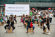 Protest in front of Primark, Berlin