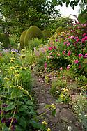 East Lambrook Manor Gardens, East Lambrook, South Petherton, Somerset, UK