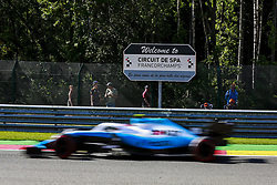August 30, 2019, Spa-Francorchamps, Belgium: Motorsports: FIA Formula One World Championship 2019, Grand Prix of Belgium, ..#88 Robert Kubica (POL, ROKiT Williams Racing) (Credit Image: © Hoch Zwei via ZUMA Wire)
