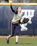 FIU Softball Vs. Illinois during the Combat Classic.  Tournament was played at the FIU Softball Complex.  FIU Defeated Illinois 8-0 behind stellar pitching by Mariah Dawson and a plethora of offence.