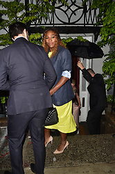 Harry Styles, Serena Williams, Lady Gaga. James Cordon, Sienna Miller all party at a pre Met Gala party in New York. 05 May 2019 Pictured: Serena Williams. Photo credit: Neil Warner/MEGA TheMegaAgency.com +1 888 505 6342