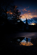 Puddle and Sky, Oella, Maryland