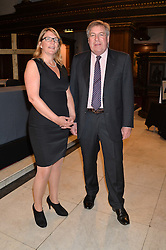 SUSIE LEAFE director of Reform and EDWARD STOURTON at a reception and debate to celebrate the publication of  'Women in Waiting, Prejudice at the the Heart of the Church' by Julia Ogilvy held at St.James's Church, 197 Piccadilly, London on 11th March 2014.