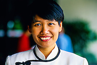 Female staff member, The Oriental Hotel, Singapore