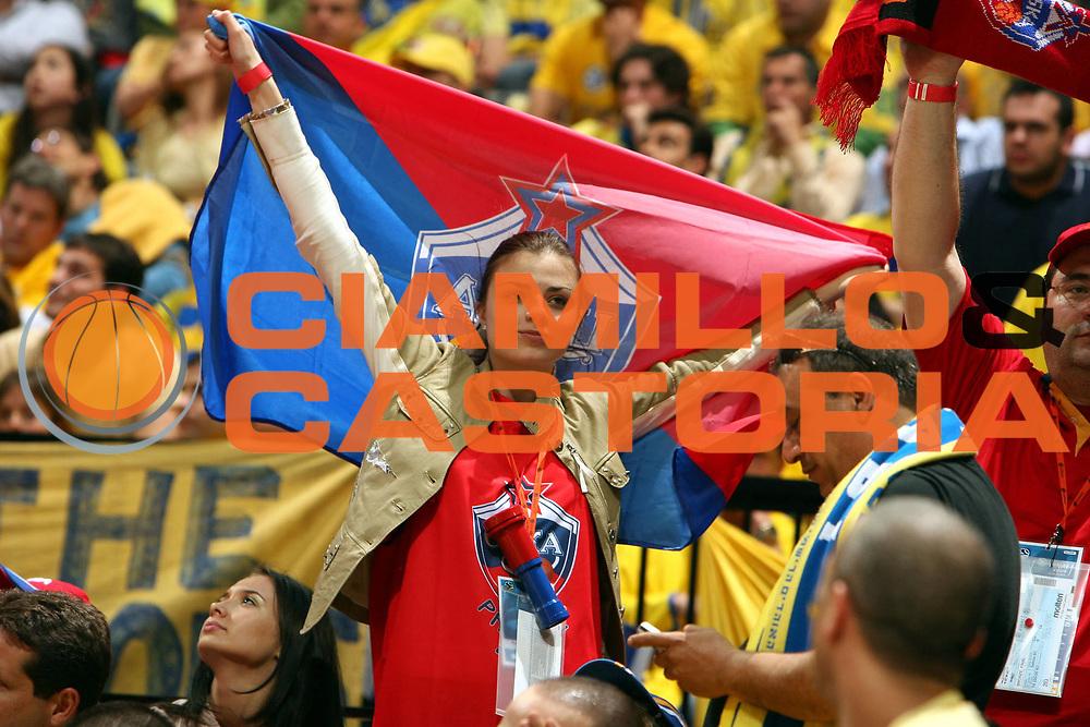 DESCRIZIONE : Praga Eurolega 2005-06 Final Four Finale 1-2 Posto Cska Mosca Maccabi Tel Aviv<br />GIOCATORE : Tifosi<br />SQUADRA : Cska Mosca<br />EVENTO : Eurolega 2005-2006 Final Four Finale 1-2 Posto <br />GARA : Cska Mosca Maccabi Tel Aviv<br />DATA : 30/04/2006 <br />CATEGORIA : Tifosi<br />SPORT : Pallacanestro <br />AUTORE : Agenzia Ciamillo-Castoria/E.Castoria