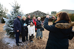 Lee Johnson and Gary Johnson with their family at the Bristol Rugby Christmas party at Avon Valley country park - Photo mandatory by-line: Dougie Allward/JMP - 26/11/2017 - Avon Valley Country Park - Bristol, England -  v  - Bristol City and Bristol Rugby Christmas party