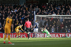 David Martin of Millwall makes a save - Mandatory by-line: Arron Gent/JMP - 17/03/2019 - FOOTBALL - The Den - London, England - Millwall v Brighton and Hove Albion - Emirates FA Cup Quarter Final