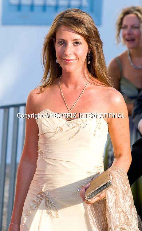 "Princess Marie_.The Wedding of Prince Nikolaos and Tatiana Blatnik attended by many members of European Royalty at St Nikolaos Church on the Island of Spetses_Grecce_24/08/2010.Mandatory Credit Photo: ©DIAS-NEWSPIX INTERNATIONAL..**ALL FEES PAYABLE TO: ""NEWSPIX INTERNATIONAL""**..IMMEDIATE CONFIRMATION OF USAGE REQUIRED:.Newspix International, 31 Chinnery Hill, Bishop's Stortford, ENGLAND CM23 3PS.Tel:+441279 324672  ; Fax: +441279656877.Mobile:  07775681153.e-mail: info@newspixinternational.co.uk"
