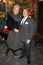 MR ARNOLD CROOK of the Theatre Royal Haymarket  and his wife JEANNE MANDRY at a gala evening preview of Edward Albee's The Lady from Dubuque in aid of Masterclass at The Theatre Royal, Haymarket, London on 19th March 2007<br /><br />NON EXCLUSIVE - WORLD RIGHTS