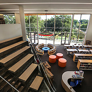 WASHINGTON, DC - SEP9: The Woodridge Public Library is the latest library to reopen in D.C. with an innovative design, September 9, 2016. (Photo by Evelyn Hockstein/For The Washington Post)